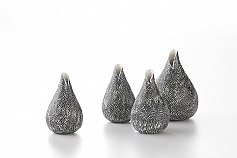 Snake Skin Bud Vases - Texture Collection, 2011
