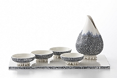 Tentacle Sauce Decanter and Dish Set - Texture Collection, 2011