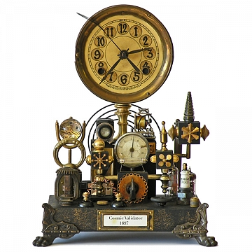No. 5056 Steampunk Shelf Clock, 2012