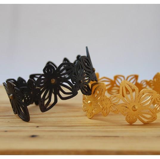 3D Printed Steel Bracelets