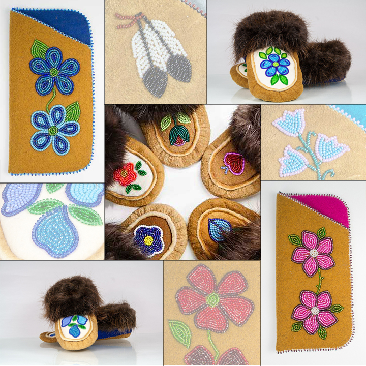 Beading-on-Moosehide-Image
